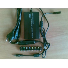 Зарядно за лаптоп универсално  за кола и ток